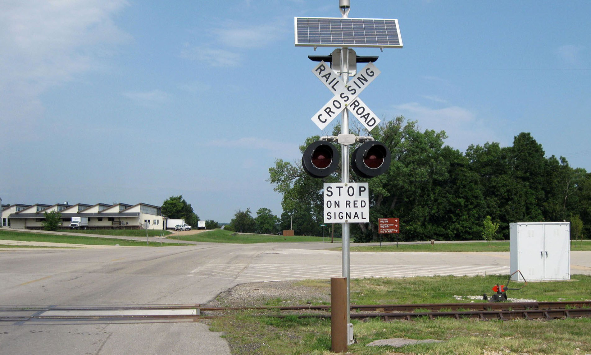 Railroad Crossing Signals | O'Conner Engineering